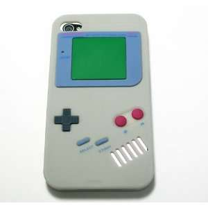 Gray Nintendo Game Boy Gameboy Style Silicone Case Cover for Verizon