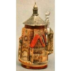 Rothenburg 3 D Tower German LE Beer Stein 1/4 L Home & Kitchen