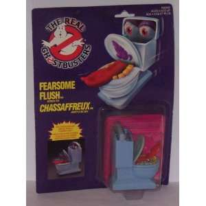 : Fearsome Flush Action Figure   The Real Ghostbusters: Toys & Games
