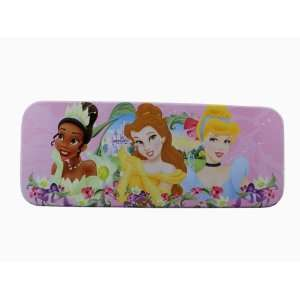 Pink Disney Princess Tin Box   Disney Princess Tin Pencil Box