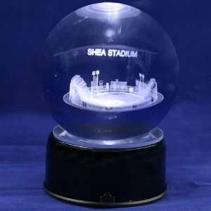 New York Mets Baseball Stadium 3D Laser Globe: Sports & Outdoors