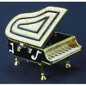 CMC Trinket Box   Grand Piano, Black Musical Instruments