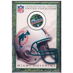 Dolphins Commemorative Edition JFK Half Dollar Coin
