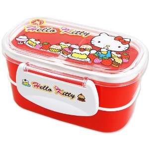[Hello Kitty] bunk lunch box Lunchbox lunch case cake TM