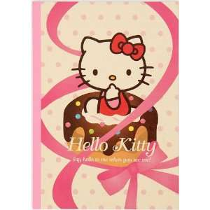Hello Kitty Notebook school book cupcake lined Toys