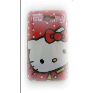 Hello Kitty Red Shirt Image Hard Case Cover for Samsung