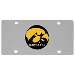 Iowa Hawkeyes Logo License Plate:  Sports & Outdoors