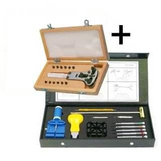 Case & Jewelry Pro Repair Tool Kit Wood Box Arts, Crafts & Sewing