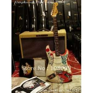 jimi hendrixs custom shop monterey strat electric guitar    Musical