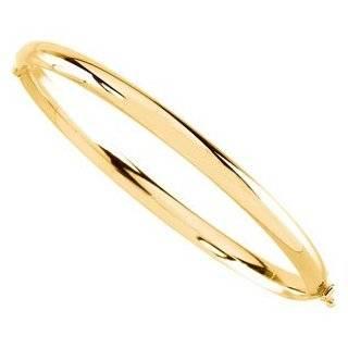 Karat Yellow Gold Round Double Link Charm Bracelet (7.5 Inch) Jewelry