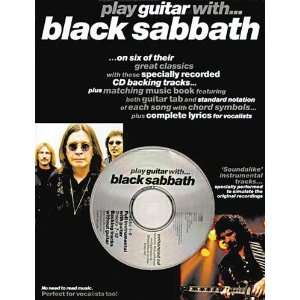 Play Guitar WithBlack Sabbath [Paperback] Black