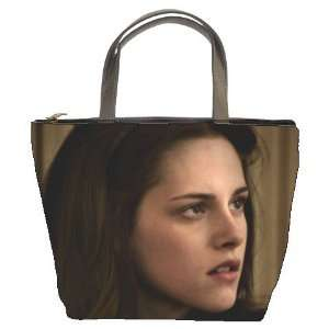 Bucket Bag Leather Purse Handbag (Double Side Photo)