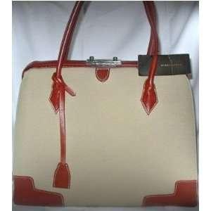 BCBG MAX AZRIA Large Leather Handbag / Shoulder Bag / Tote