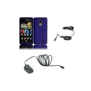 LG Spectrum (Verizon) Premium Combo Pack   Purple Hard