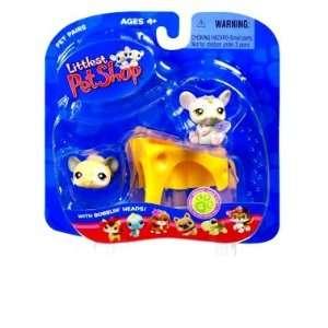 Littlest Pet Shop Pet Pairs Mice (#115 & #116) Action Figure 2 Pack