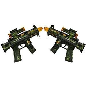 Duel Super Mini Machine Guns (Set of Two): Toys & Games