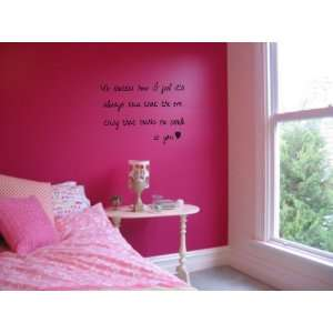 Wall Art love memories you decor quotes vinyl letters