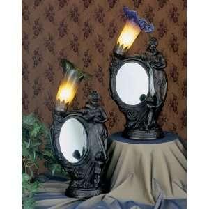 Meyda Tiffany 22190 Mother & Child   One Light Mirror Accent Lamp