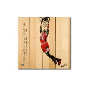 Chicago Bulls Michael Jordan Chicago Bulls Dunk Game Used