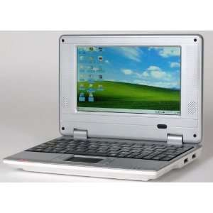 White 7 Mini Netbook Laptop Notebook WIFI WindowsCE 2GB