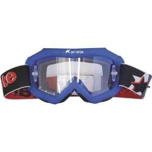 Ariete Glamour 8 Mens Off Road Motorcycle Goggles Eyewear w/ Free B&F