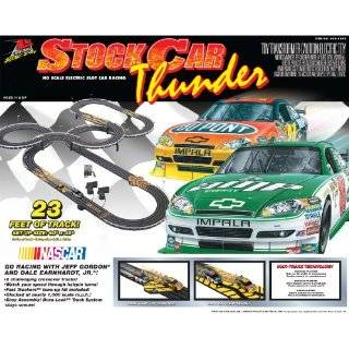 Life Like Nascar Stock Car Thunder Electric Race Set