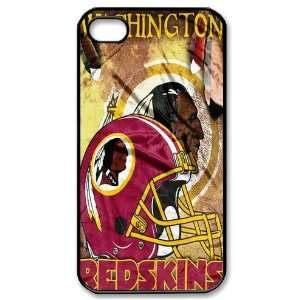 Designed iPhone 4/4s Hard Cases Redskins team logo Cell