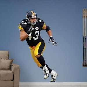NFL Troy Polamalu Vinyl Wall Graphic Decal Sticker Poster