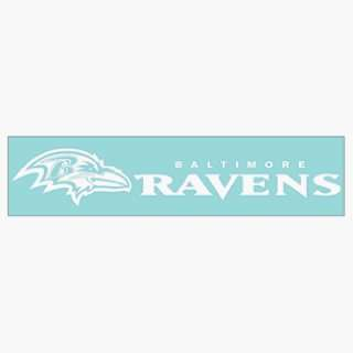 NFL Baltimore Ravens 4x16 Die Cut Decal