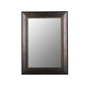 Ready to Hang Wall Mirror With a 1 1/4 Bevel.