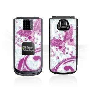 Design Skins for Nokia 2720 fold   Pink Butterfly Design