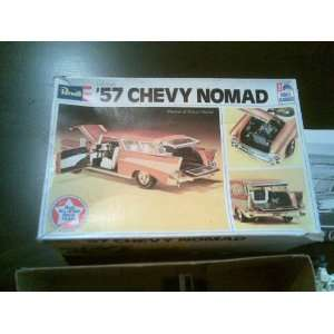 Vintage Revell 57 Chevy Nomad Model Kit: Toys & Games