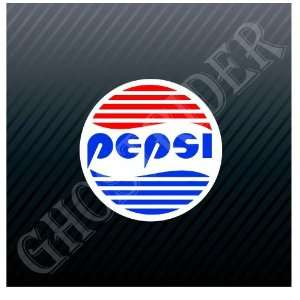 Pepsi Cola Drink Vintage Car Trucks Sticker Decal