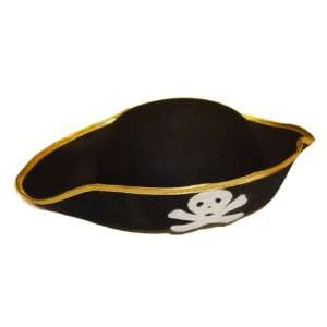 Pirate Skull Cross Bone Hat Dress Up Party Wholesale 24