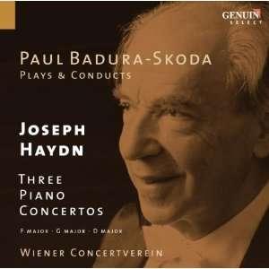 Paul Badura Skoda Plays & Conducts Three Piano Cto Haydn