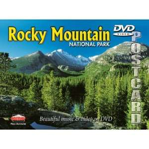 Rocky Mountain National Park DVD Postcard Finley Holiday