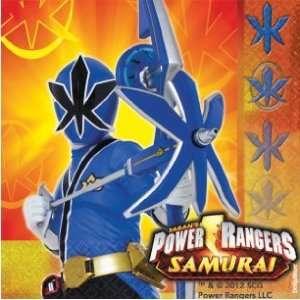 Power Rangers Samurai Birthday Party Beverage Napkins 16ct