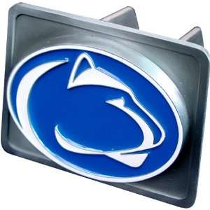 Penn State Nittany Lions NCAA Pewter Trailer Hitch Cover