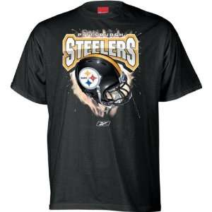 Pittsburgh Steelers Helmet T Shirt