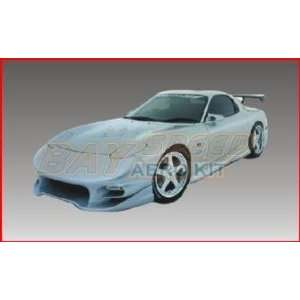 93 97 Mazda RX7 Invader Style Front Bumper Automotive