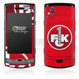 Design Skins for Samsung S8500 Wave   1. FCK Logo Design