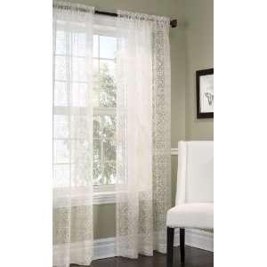 Ellington Semi Sheer Curtain: Home & Kitchen