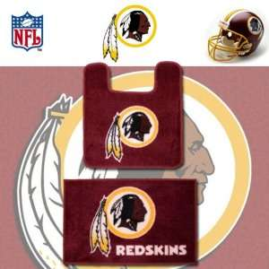 NFL Washington Redskins Logo Bathroom Soft Floor Carpet
