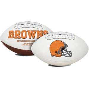Cleveland Browns NFL Signature Series Football