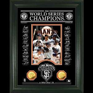 San Francisco Giants 2010 World Series Champions Signature