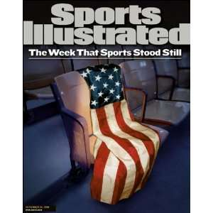 Flag   9/11 Cover Sports Illustrated Magazine September 24