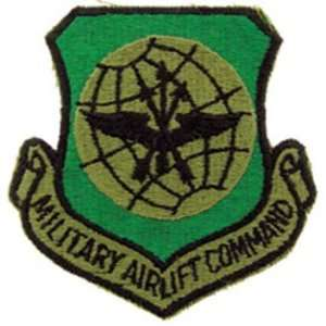 U.S. Air Force Military Airlift Command Patch Green 3
