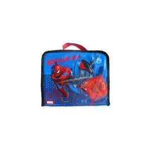 Spider man Boys Insulated Lunchbox Bag Tote Blue  Kitchen