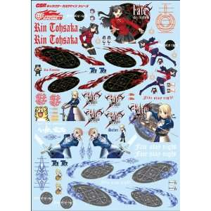 Series Decals 004 Fate Stay Night   1/24 Scale Toys & Games