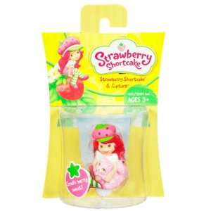 Strawberry Shortcake: Strawberry Shortcake With Custard